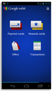 Google Wallet Mobile app