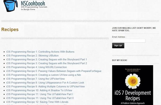 NScookbook