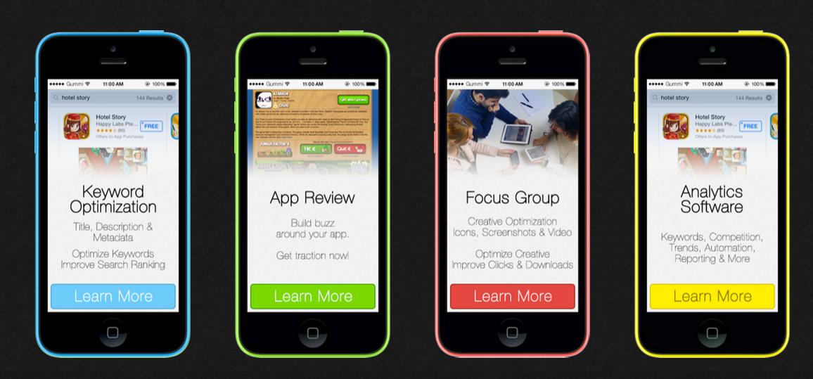 app store optimization gummicube