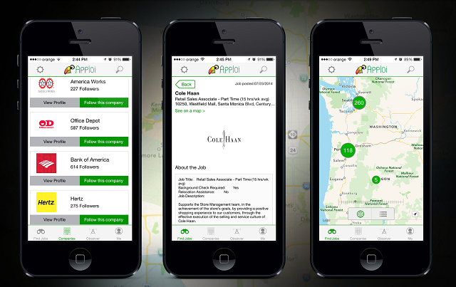 mobile apps for job searching