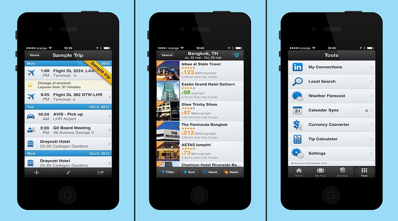 app for travelling