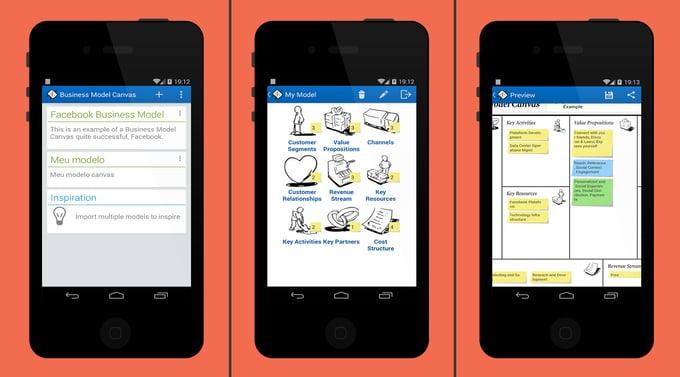 Business model App for web