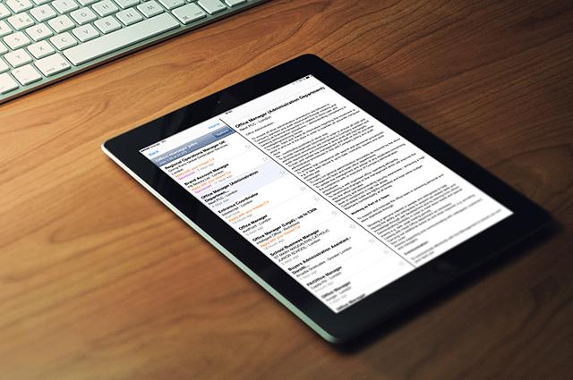 Indeed Job Search for iPad