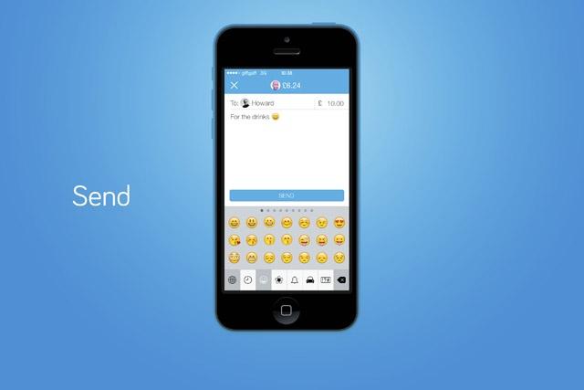 iOS payment app
