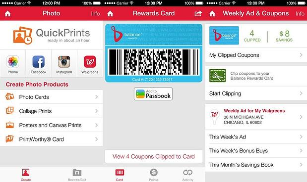 walgreen mobile retail app